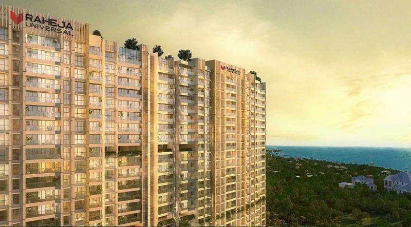 Raheja Exotica sea View